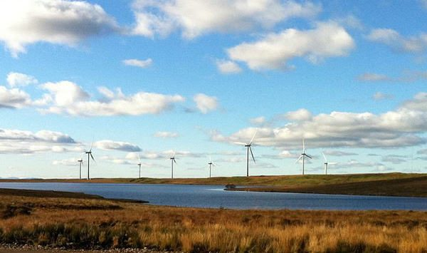 Scotland produces record amount of energy from renewables